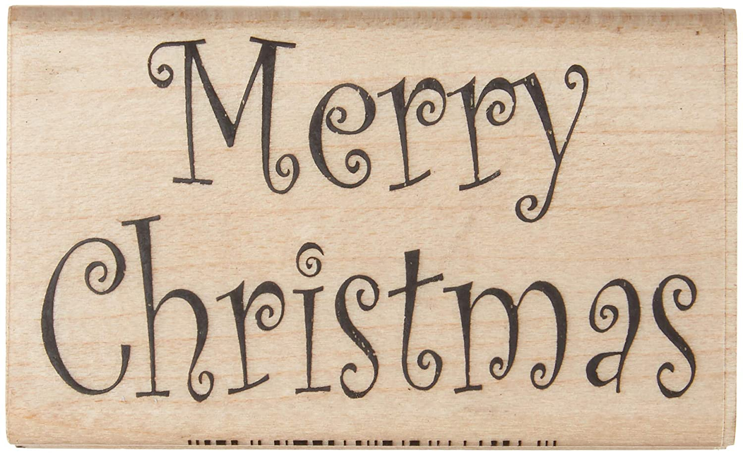 Stamps by Impression ST 0704 Merry Christmas Rubber Stamp
