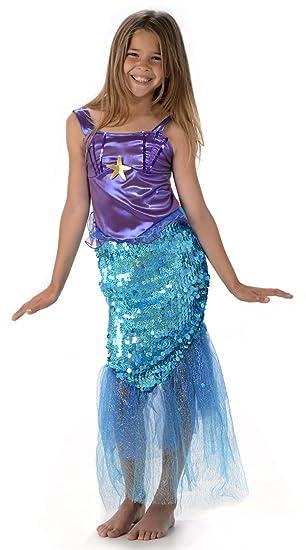 Sirena Mágica Chicas Niña Xl 11 13 Años Amazones