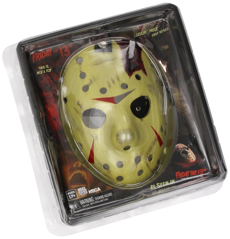 Friday The 13th Part 4 Jason Mask Prop Replica [German Version] (máscara/careta): Amazon.es: Juguetes y juegos