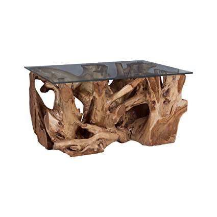 Astounding Amazon Com Elk Home 7117514 Teak Root Coffee Table With Download Free Architecture Designs Scobabritishbridgeorg