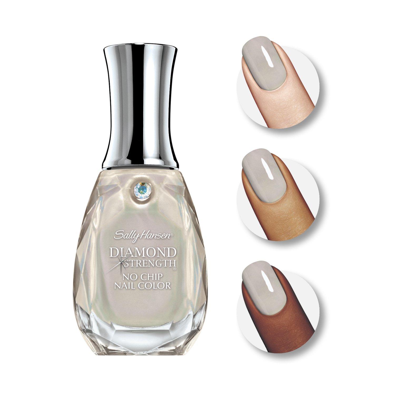 Buy Sally Hansen Diamond Strength No Chip Nail Polish, Platinum ...