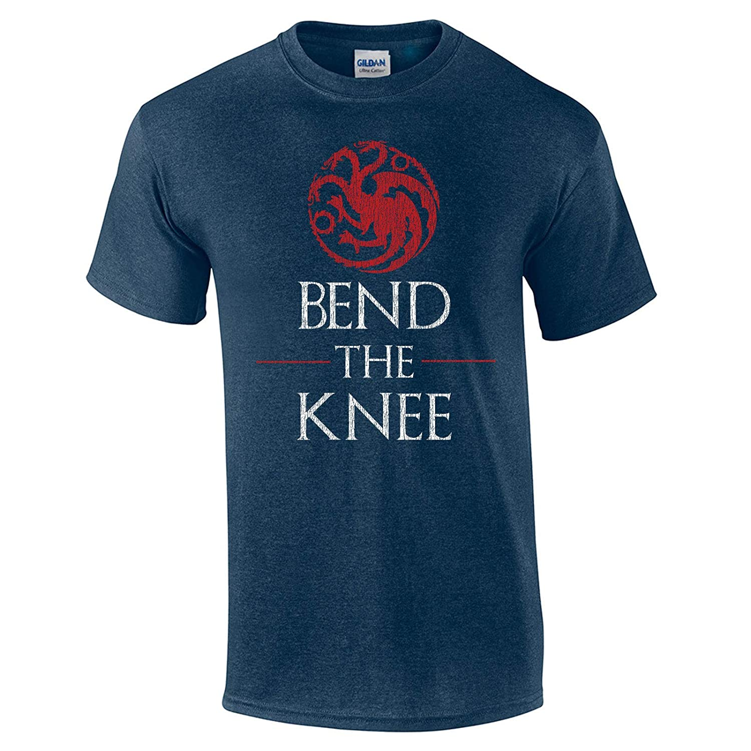 a4f8961f18 Amazon.com: Swaffy Tees 621 Bend The Knee Funny Men's T Shirt: Clothing