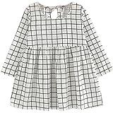Toamen Enfant Fille Mode Vêtements d'automne Manche longue Princesse Robe