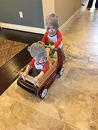 Amazon Com Radio Flyer Classic Walker Wagon Toys Amp Games