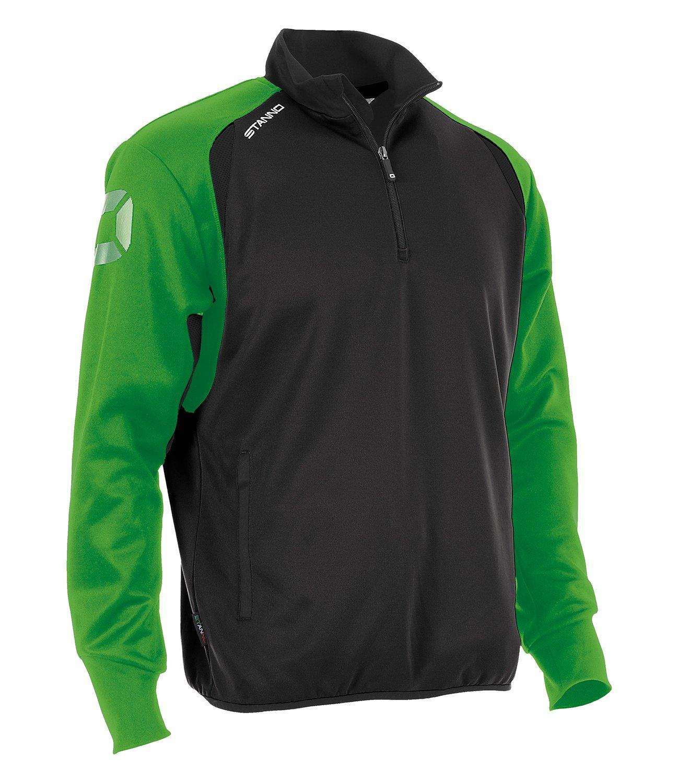 Stanno Riva Top Half Zip schwarz-bright green