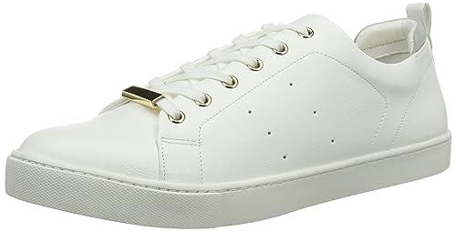 ALDO Merane, Zapatillas para Mujer, Blanco (White/70), 42.5 EU: Amazon.es: Zapatos y complementos
