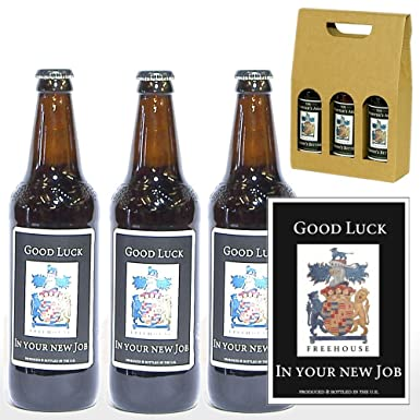 Personalised 'Congratulations On Your New Job' Yorkshire Ales Trio ...