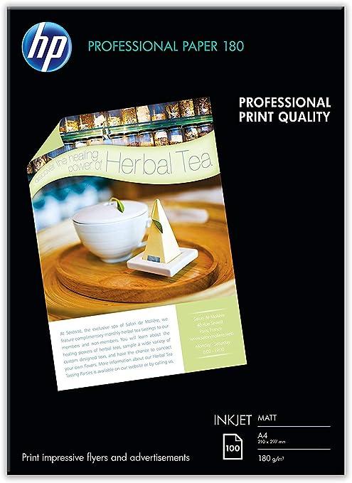 HP Professional Q6592A- Papel mate para impresora de inyección de ...