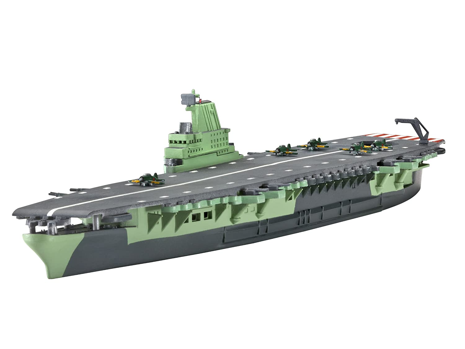 Revell Aircraft Carrier SHINANO 1:1200 Naval ship Assembly ...