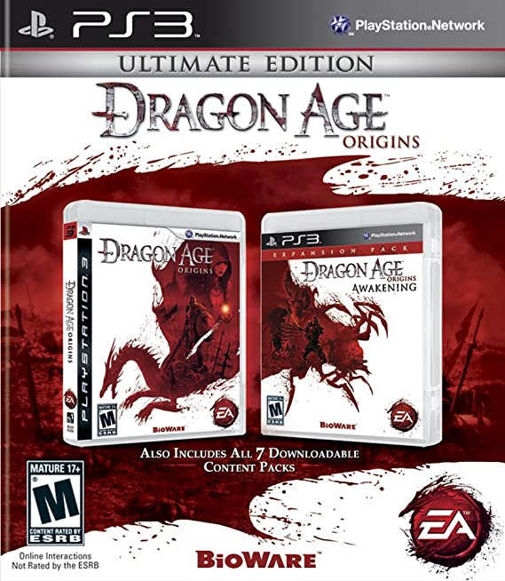 Dragon Age Origins: Ultimate Edition (PS3) PlayStation 3 Games at amazon