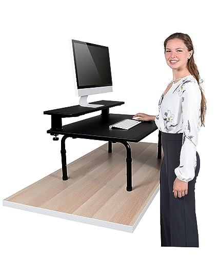 Amazon.com: Standing Desktop Converter with Monitor Shelf - Convert
