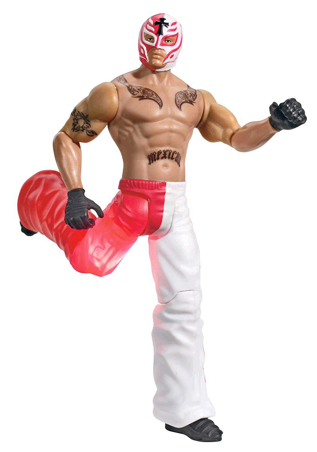 amazon com wwe flexforce lightning flip kickin rey mysterio toys