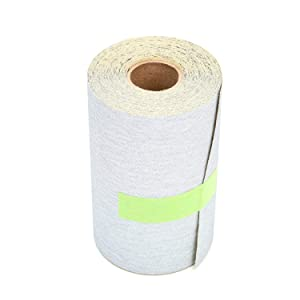 """3M Stikit Vibrator Sander Roll 426U, Paper, Silicon Carbide, 4-1/2"""" x 10 yds Length, 320 Grit, Gray (Pack of 1)"""