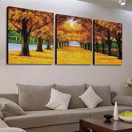 ZWZT Decorazione artistica Pittura Soggiorno Moderno Paesaggio ...