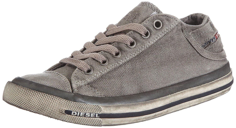 #Diesel Exposure Low I Gunmetal Mens Trainers Shoes