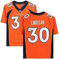 $249 » Phillip Lindsay Denver Broncos Autographed Orange Nike Limited Jersey - Fanatics Authentic Certified