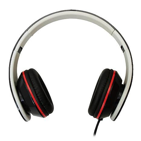 Maplin Detector de metales ligero de cuero Ear Cup auriculares con cable – negro
