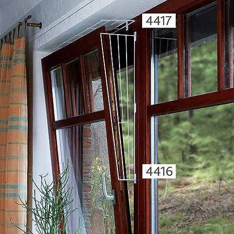 Trixie Rejilla Protectora Lateral de Ventana, 62 x 16/8 cm, Color Blanco