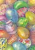 Toland Home Garden Easter Eggs 28 x 40-Inch Decorative USA-Produced House Flag