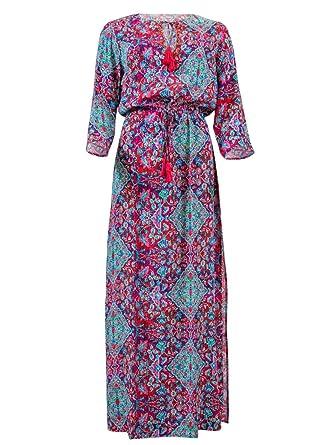 0cfcacac0d Seafolly Multicolor Beach Dress Casablanca Kaftan: Amazon.co.uk: Clothing
