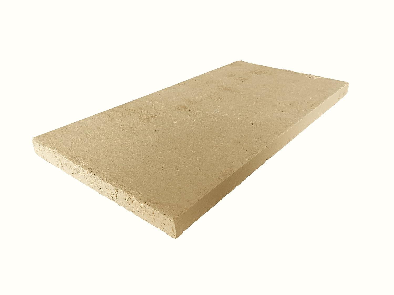 Lastra in argilla refrattaria, per forno, alta qualità, 400 x 200 x 20 mm alta qualità Kaminbau Schulhauser