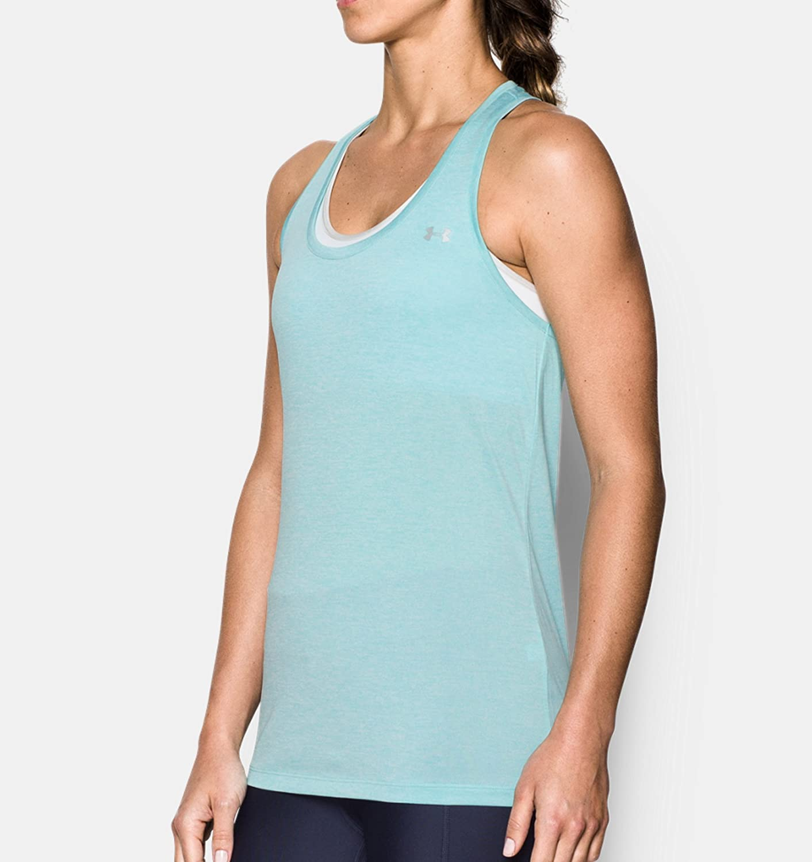MD Twist Camiseta sin Mangas Azul Mujer Under Armour Tech Tank