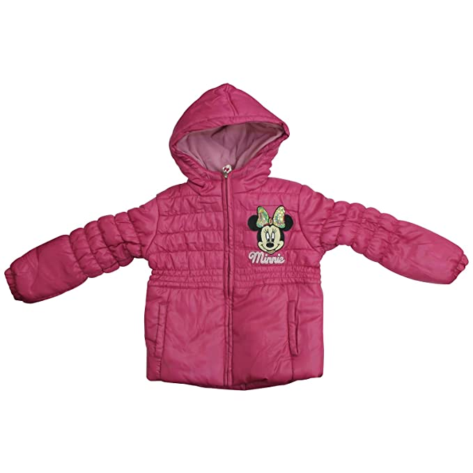 b0b2ddc2f Official Licensed Disney Girls Minnie Mouse Pink Winter Padded ...