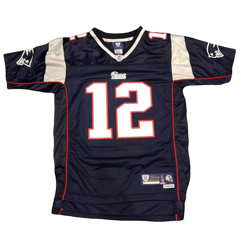 size 40 e53ac 0191d Tom Brady New England Patriots Nike Youth Game Jersey (Youth Medium 10-12)