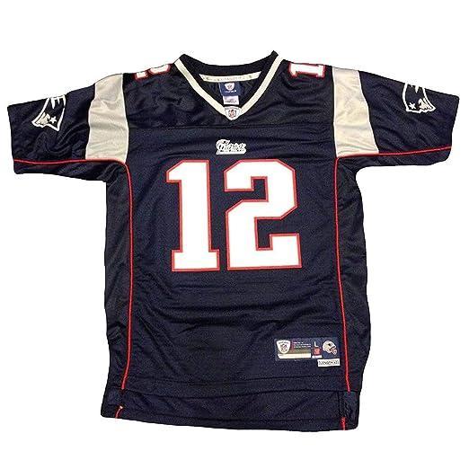 91add7c9d Amazon.com : Tom Brady New England Patriots Nike Youth Game Jersey (Youth  Medium 10-12) : Clothing