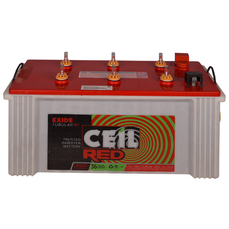 Exide Ceil CR500 Plus 150Ah Tubular Battery