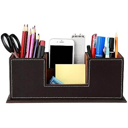Kangkang 2 Layers 4 Slot PU Leather Pen