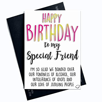 Excellent Birthday Cards Funny Birthday Card For Friend Novelty Cards Banter Funny Birthday Cards Online Aboleapandamsfinfo