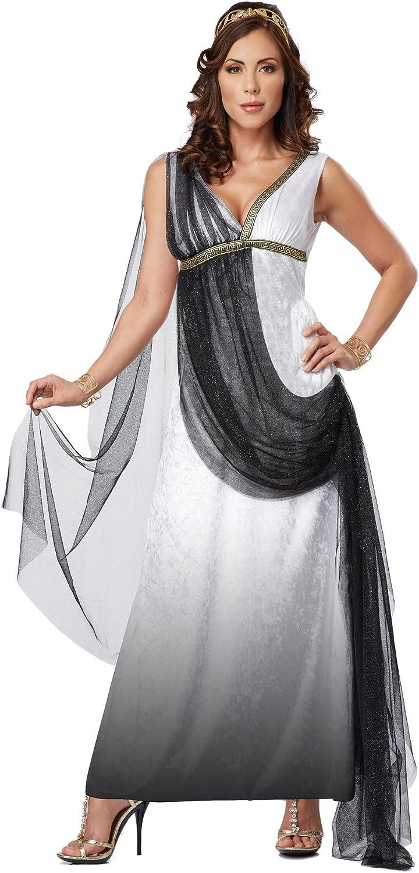 Disfraz de emperatriz romana de lujo adulto - S: Amazon.es ...