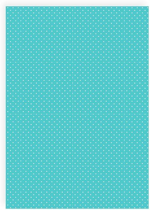 Flex pantalla puntos pequeño turquesa – Din A4 arco – Pantalla ...