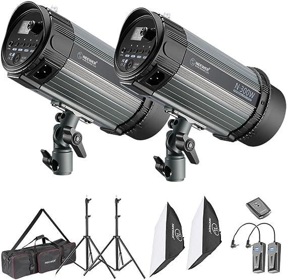 Neewer 600w Studio Strobe Flash Licht Beleuchtung Kamera