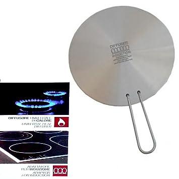 Difusor de calor-Adaptador universal de cocina para inducción diámetro de 16 cm: Amazon.es: Electrónica