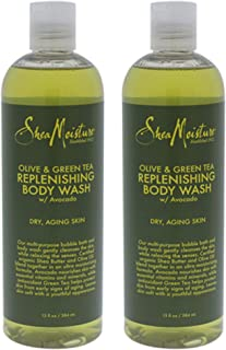 product image for Shea Mst Bdy Wsh Olve&Grn Size 13z Shea Olive & Green Tea Body Wash 13z