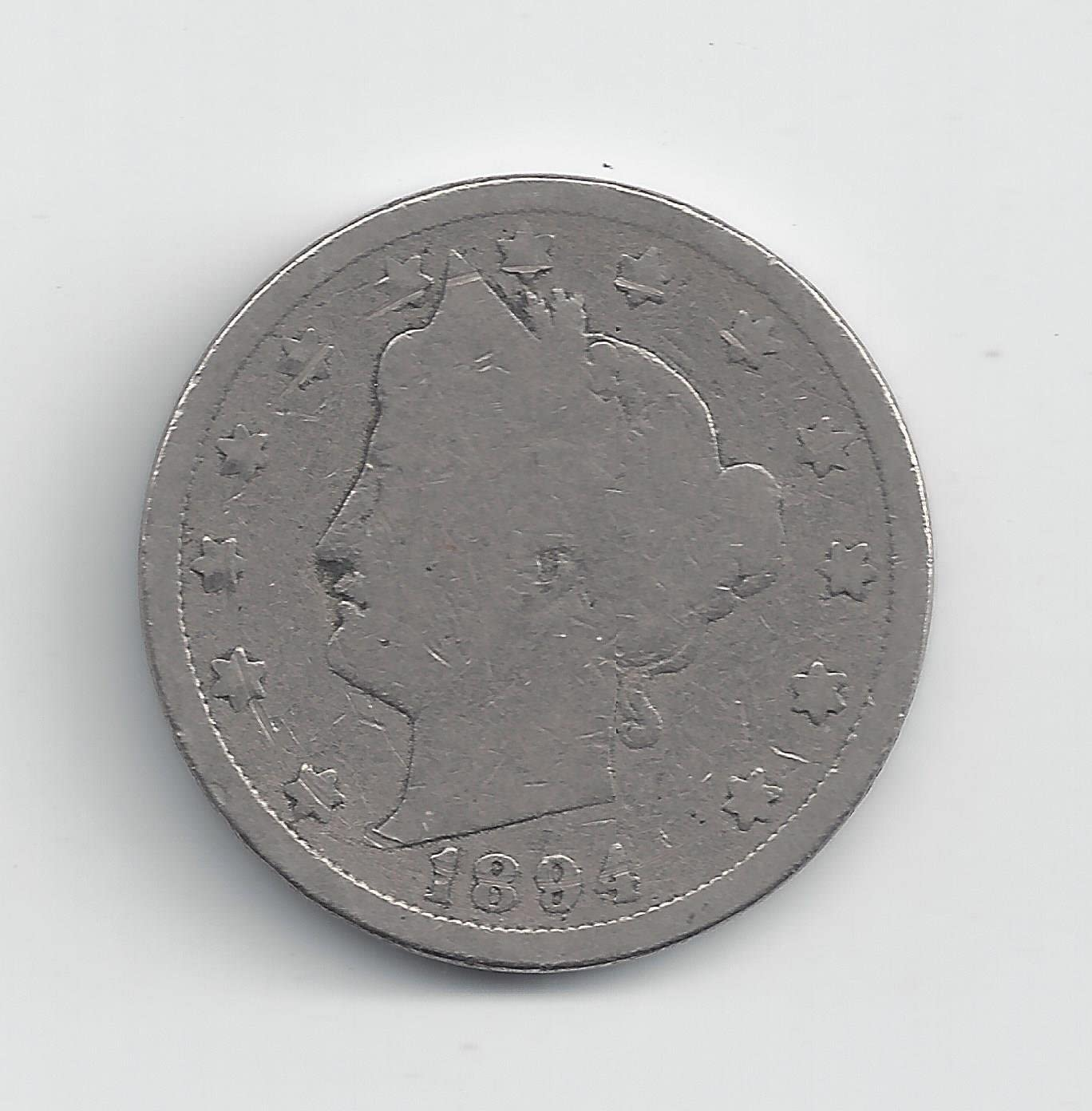 GREAT PRICE! 1894 LIBERTY HEAD NICKEL GOOD