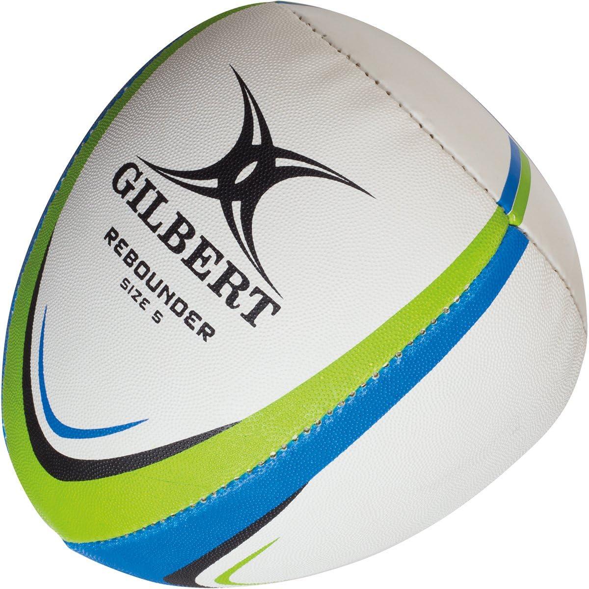 Gilbert - Balón de Rebote para Entrenamiento, Color Blanco, Azul y ...