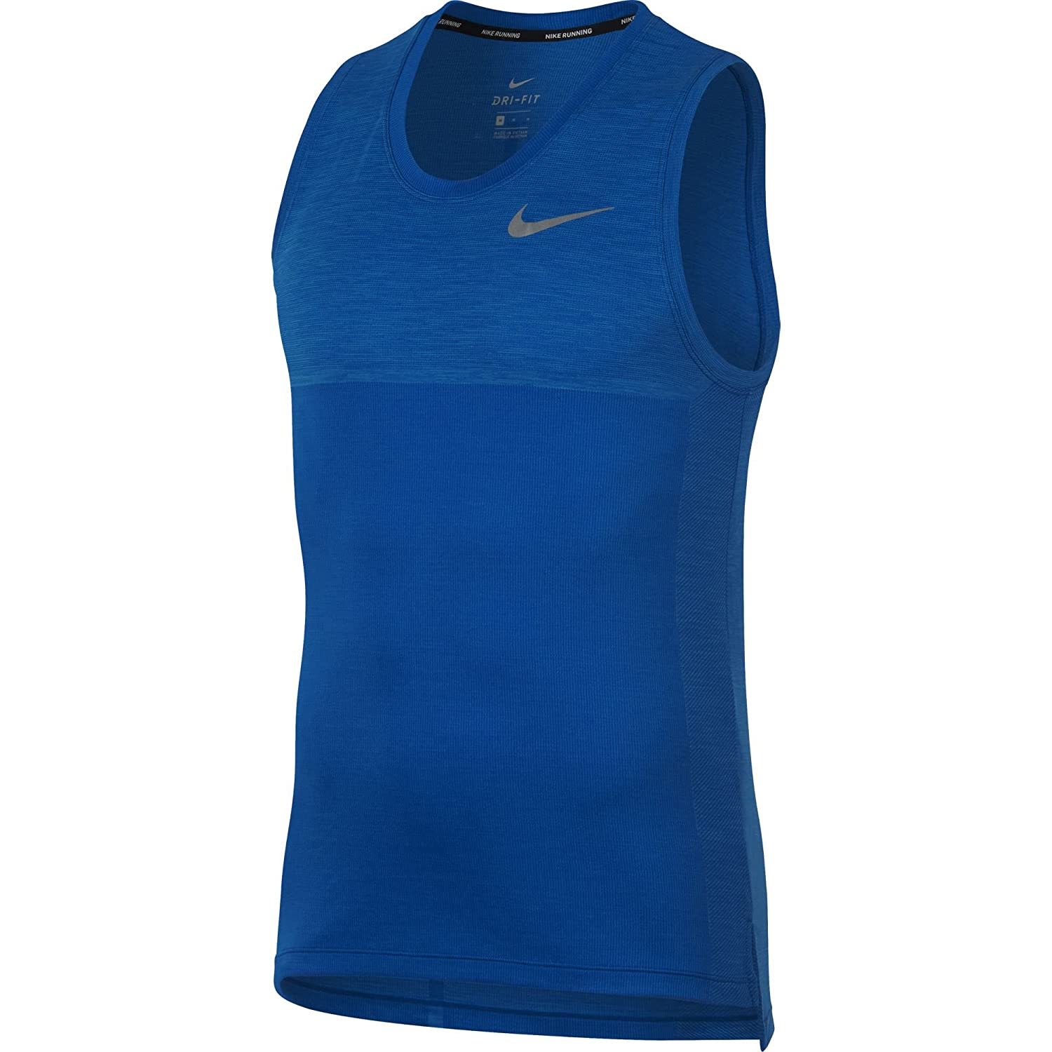 da41e7facefa1e NIKE Men s Dry Medalist Running Tank at Amazon Men s Clothing store