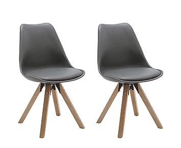 Duhome Elegant Lifestyle Stuhl Esszimmerstuhle Kuchenstuhle 2 Er