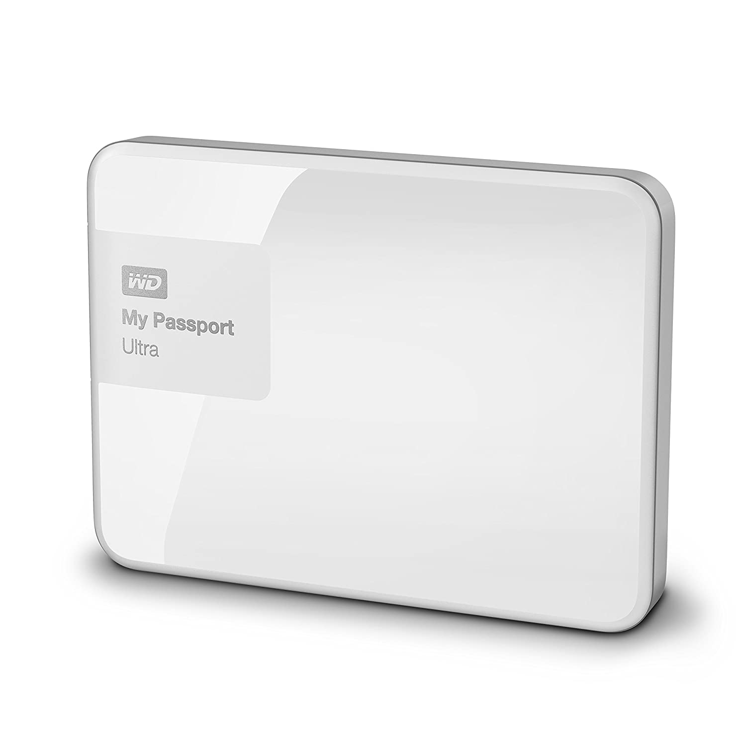 Wd 1tb White My Passport Ultra Portable External Hard Drive Usb 30 Wdbgpu0010bwt Eesn Computers Accessories