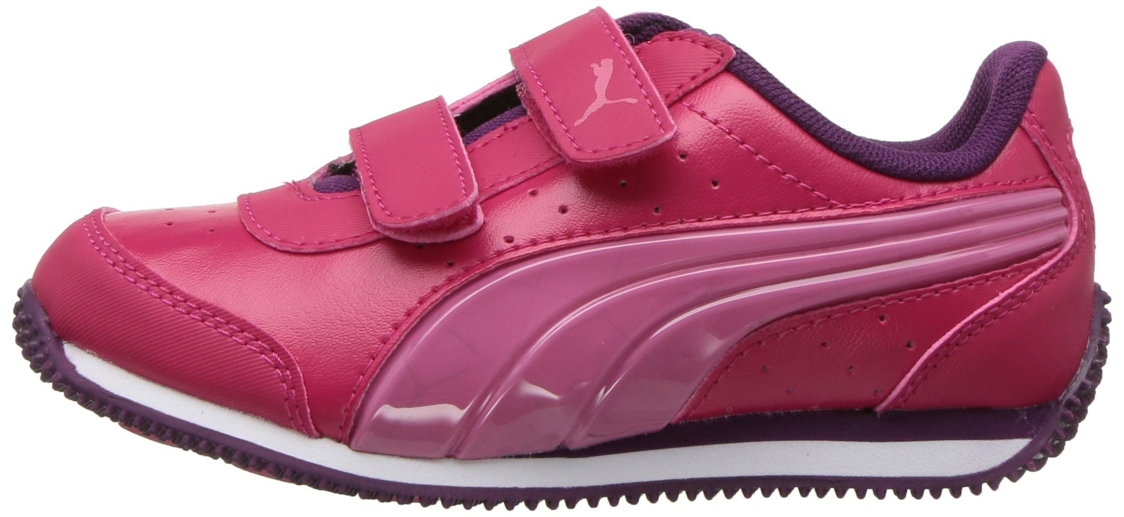 PUMA Baby Speed Lightup Power V Kids Sneaker, Love Potion-Rapture Rose, 5 M US Toddler by PUMA (Image #5)