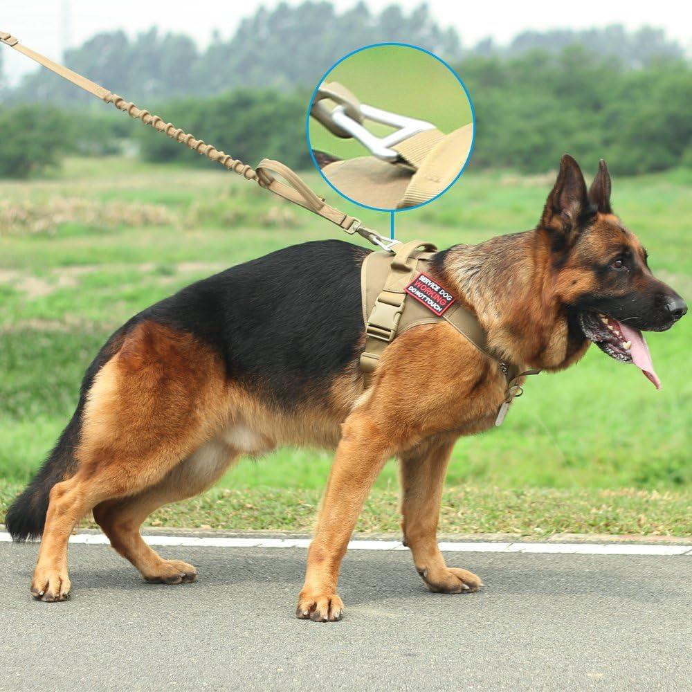 Excelente arn/és t/áctico para Perro Elite Spanker K9 para Entrenamiento Militar Chaleco Ajustable para Perro con asa