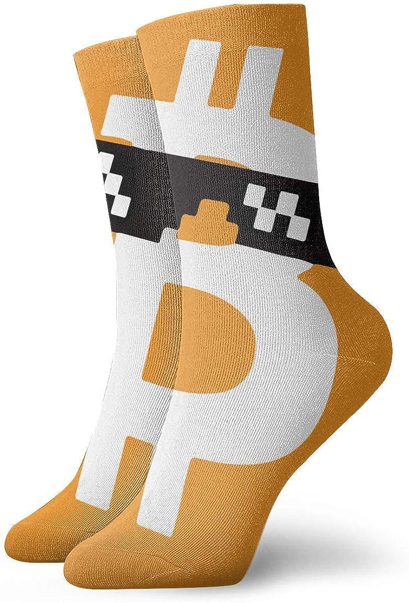 NA Calcetines cómodos unisex Bitcoin Calcetines deportivos ...