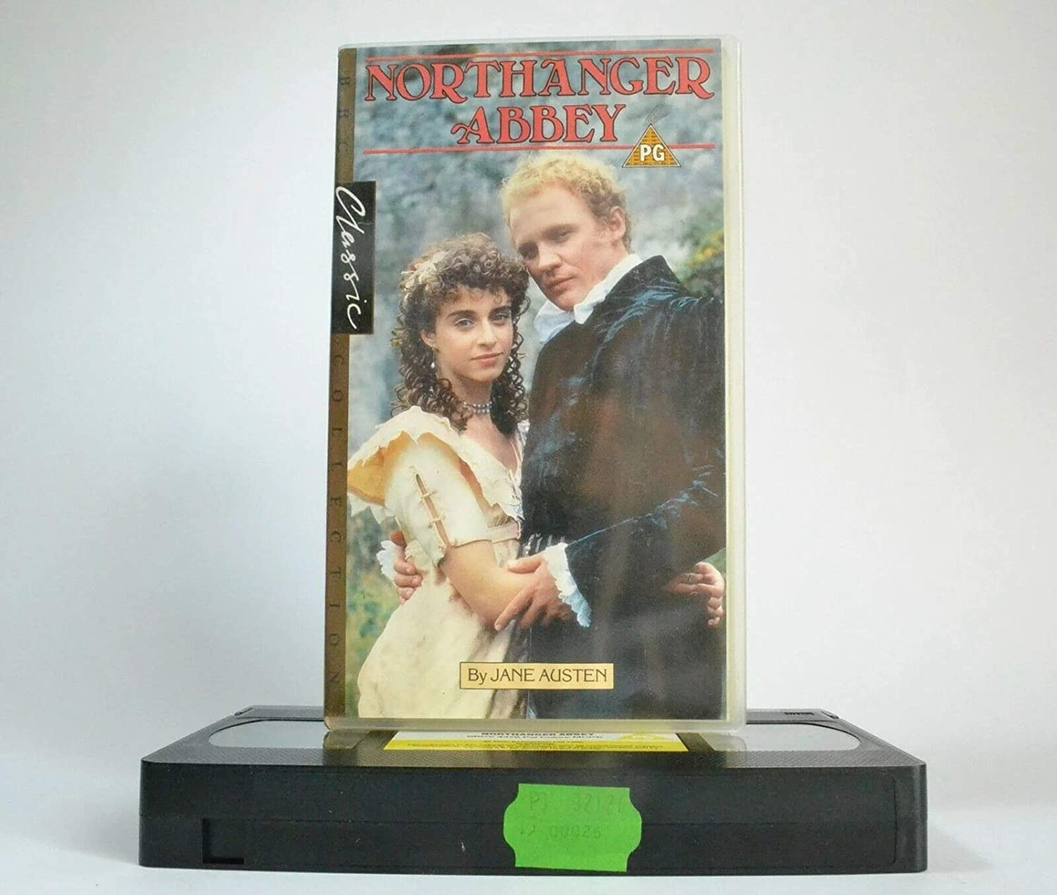 Northanger Abbey [Reino Unido] [VHS]: Amazon.es: Firth, Peter, Withers, Googie, Hardy, Robert, Schlesinger, Abbey, Austen, Jane (Buch), Foster, Giles, Firth, Peter, Withers, Googie: Cine y Series TV