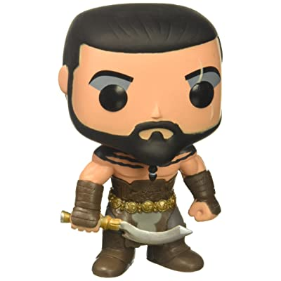 Game of Thrones Pop! Vinyl - Khal Drogo #04: Jason Momoa: Toys & Games