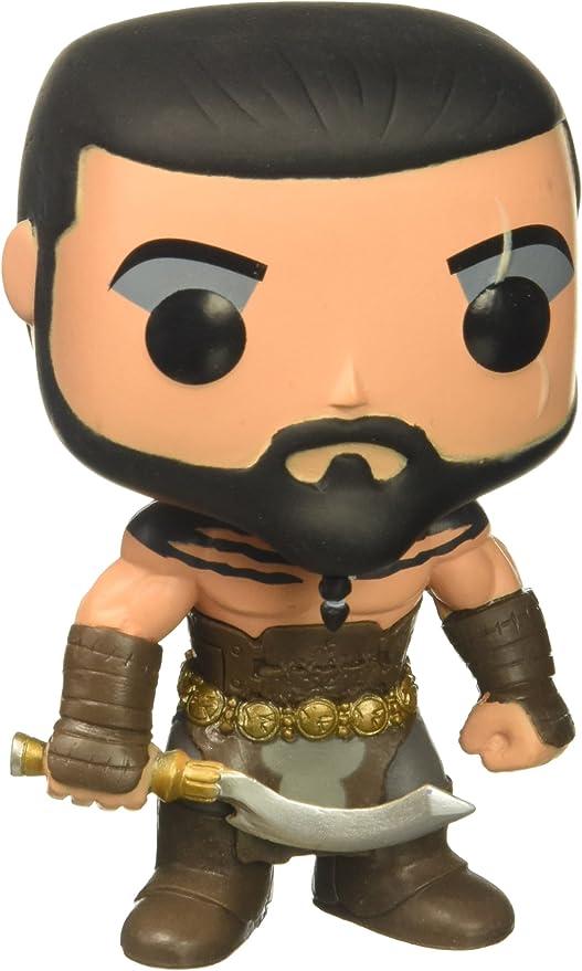 Amazon.com: Juego Game Of Thrones Pop Figura de vinilo Khal ...