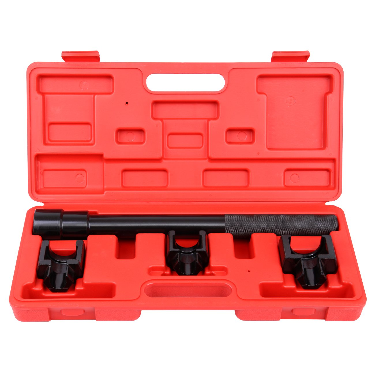 Honhill Inner Tie Rod Removal Set 4pc Mechanics Installation Adjusting Tool Kit Dual Mechanics Socket Adapter