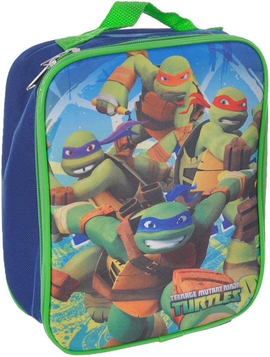 TMNT Ninja Turtles Turtle Lunchbox Lunch Kit Bag